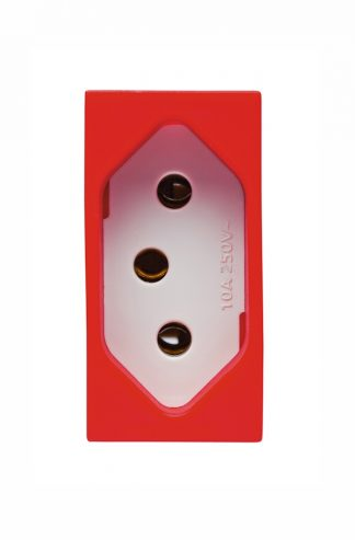Tomada 2P+T 20A (Vermelha) - Vivace (5UB9 9308) - SIEMENS